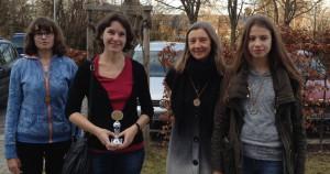 Annika Siebenhaar, Cornelia Thieme, Angelika Reh und Lanka Wolf