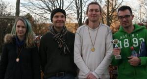 Chiara Harms, Mario Wolf, Uwe Gelhaar, Petar Batchvarov